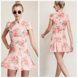 Reformation Wednesday Floral Print Dress
